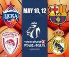 Final Four Londres 2013 Euroliga de Baloncesto