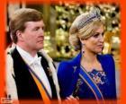 Guillermo-Alejandro y Máxima nuevos reyes de Holanda (2013)