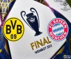 Borussia Dormunt vs Bayern Munich. Final UEFA Champions League 2012-2013. Estadio de Wembley, Londres, Gran Bretaña