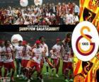 Galatasaray, campeón Super Lig 2012-2013, liga de fútbol de Turquía
