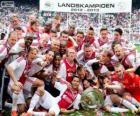 Ajax Ámsterdam, campeón Eredivisie 2012-2013, liga holandesa de fútbol