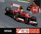 Felipe Massa - Ferrari - Gran Premio de España 2013, 3er Clasificado