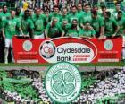 Celtic FC, campeón de la Premier League de Escocia 2012-2013