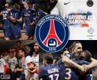Paris Saint Germain, PSG, campeón de la Ligue 1 2012-2013, liga de fútbol de Francia