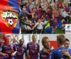 CSKA Moscú, campeón de la liga rusa de fútbol, Liga Premier 2012-2013