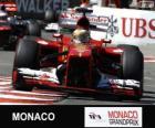 Fernando Alonso- Ferrari - Montecarlo 2013