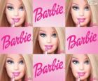 Collage de Barbie