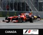 Fernando Alonso - Ferrari - Gran Premio de Canadá 2013, 2º Clasificado