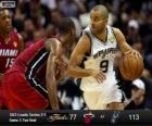 Finales NBA 2013, 3er Partido, Miami Heat 77 - San Antonio Spurs 113