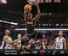 Finales NBA 2013, 4º Partido, Miami Heat 109 - San Antonio Spurs 93