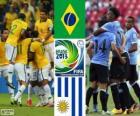Brasil - Uruguay, semifinales, Copa FIFA Confederaciones 2013