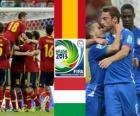 España - Italia, semifinales, Copa FIFA Confederaciones 2013