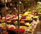 Mercado de flores, Amsterdam, Holanda