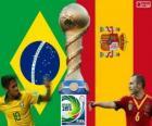 Final Copa FIFA Confederaciones 2013, Brasil vs España