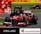 Fernando Alonso - Ferrari - Gran Premio de Gran Bretaña 2013, 3er Clasificado