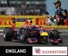 Mark Webber - Red Bull - Gran Premio de Gran Bretaña 2013, 2º Clasificado