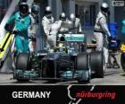 Nico Rosberg - Mercedes - Nurburgring, 2013