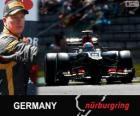 Kimi Räikkönen - Lotus - Gran Premio Alemania 2013, 2º Clasificado