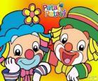 Patati y Patatá, los dos payasos son grandes amigos