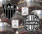 Olimpia Asunción vs Atlético Mineiro. Final Copa Libertadores 2013