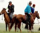 Xilingol caballo originario de Mongolia