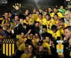Peñarol de Montevideo, campeón de la primera división de fútbol 2012-2013, Uruguay