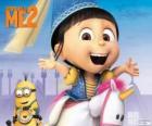 Agnes es tierna y divertida
