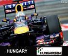 Sebastian Vettel - Red Bull - Gran Premio de Hungría 2013, 3er Clasificado