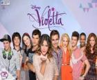 Personajes de Violetta