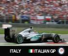 Lewis Hamilton - Mercedes - Monza, 2013