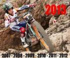 Toni Bou campeón del mundo de trial 2013