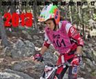 Laia Sanz, campeona del mundo de trial 2013