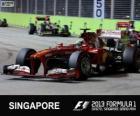 Felipe Massa - Ferrari - Singapore, 2013