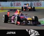 Mark Webber - Red Bull - Gran Premio de Japón 2013, 2º Clasificado