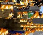 Fuego de Minecraft