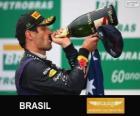 Mark Webber - Red Bull - Gran Premio de Brasil 2013, 2º Clasificado