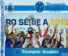 Cruzeiro, campeón del Campeonato Brasileño de Fútbol de 2013. Brasileirão 2013