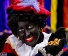 Zwarte Piet, Pedrito el Negro, el ayudante de San Nicolás en los Países Bajos y Bélgica