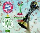 Bayern Munich vs Raja Casablanca. Final de Copa Mundial de Clubes de la FIFA 2013 Marruecos