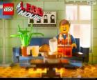 Emmet, el protagonista de la película Lego