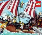 Barco pirata de Lego