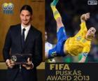 Premio Puskás de la FIFA 2013 para Zlatan Ibrahimovic