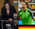 Nadine Angerer mejor Jugadora Mundial del Año de la FIFA 2013