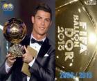 Cristiano Ronaldo Balón de Oro FIFA 2013