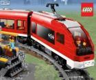 Un tren de Lego