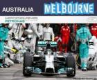 Nico Rosberg celebra su victoria en el Gran Premio de Australia 2014