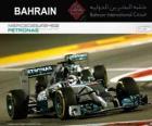 Lewis Hamilton campeón del Gran Premio Bahréin 2014