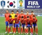 Selección de Corea del Sur, Grupo H, Brasil 2014