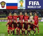 Selección de Rusia, Grupo H, Brasil 2014