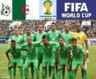 Selección de Argelia, Grupo H, Brasil 2014